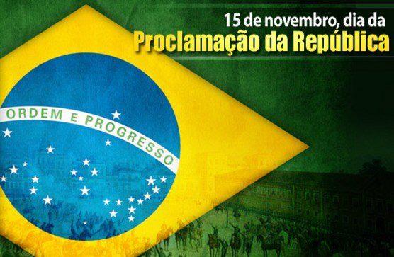 15 de novembro 2019 – Proclamação da Republica