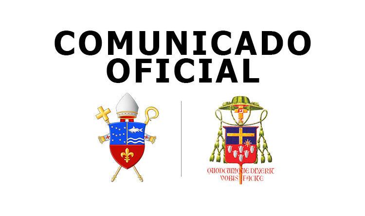 COMUNICADO DA DIOCESE DE JUNDIAÍ AOS FIEIS